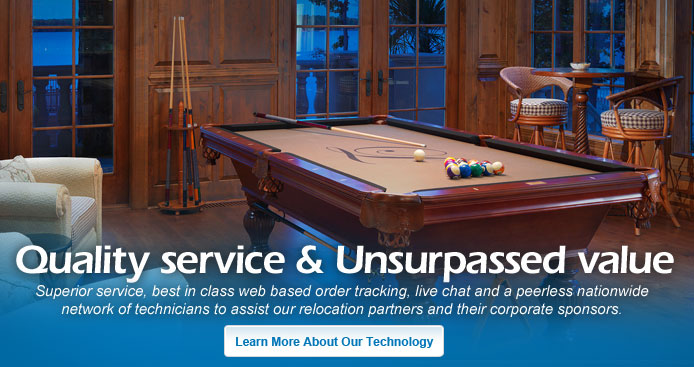 RMS Third Party Moving Services - Jacksonville pool table movers